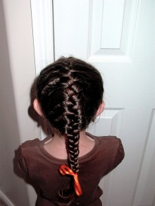 Pretty Hair is Fun -How to do a French Braid Video