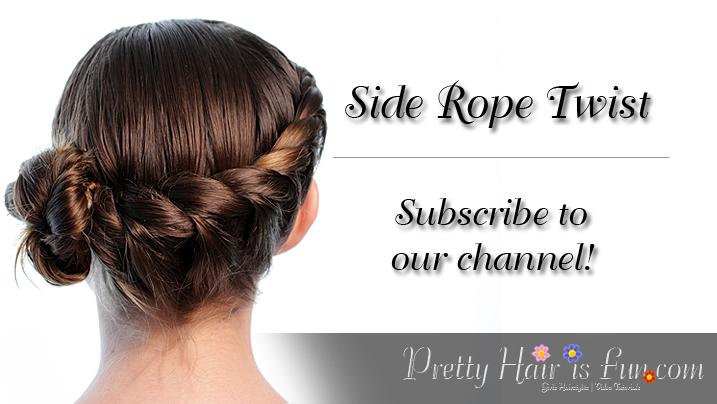 Side Rope Twist Braid: Pretty Hair is Fun