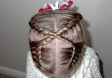 Pretty Hair is Fun – Figure 8 French Twist Braid