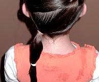 Little Girl's Hairstyles – How to do a Zig Zag Puffy Braid Ponytail