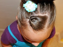 Little Girl's Hairstyles: September's CREATIVE GENIUS! Pull Through Ponytail Bun