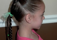 Little Girl's Hairstyles: Kitchen Sink Hairdo 10-15 min
