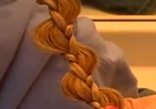 Little Girl's Hairstyles: How to do a Bumpy Uneven or Pulled Braid Video Tutorial