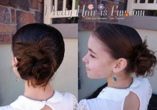 Pretty Hair is Fun: How to do a Low Side Bun Video Tutorial