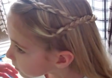 Little Girls' Hairstyles: How to do an American Girl Doll Hairstyle