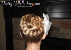 Pretty Hair is Fun: How to do a Dutch Flower Braid Video Tutorial