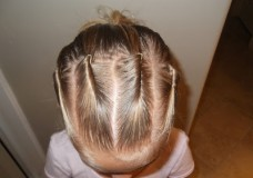 Little Girl's Hairstyles: How to do Bobby Pin Rolls