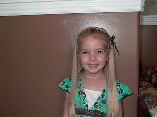 Little Girl's Hairstyles – How to do hair for School Pics!