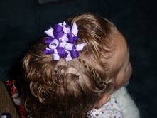 Little Girl's Hairstyles: November's Creative Genius!! Curly Hairdo