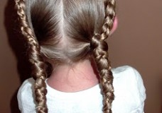 Little Girl's Hairstyles: How to do a Progressive Braid