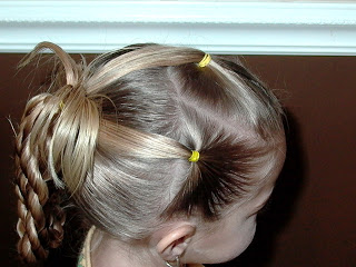 Little Girl's Hairstyles: Twist Braids into Loops