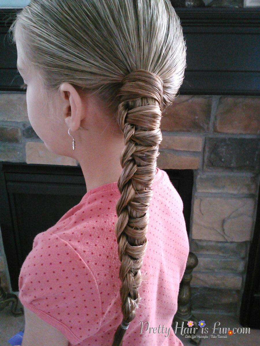 This Is A Fun New Braid For Us, That Is Really Fast And Looks Really  Different! It Works Best On Long Hair Lengths, And I Prefer To Start Out  Doing This