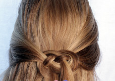 Pretty Hair is Fun: How to do a Celtic Knot or Infinity Braid