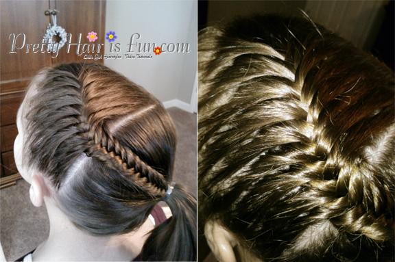 Peachy Pretty Hair Is Fun Girls Hairstyle Tutorials Little Girl39S Short Hairstyles Gunalazisus