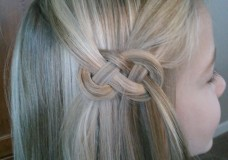 Pretty Hair is Fun: Celtic Knot (or Infinity Braid) Version 2
