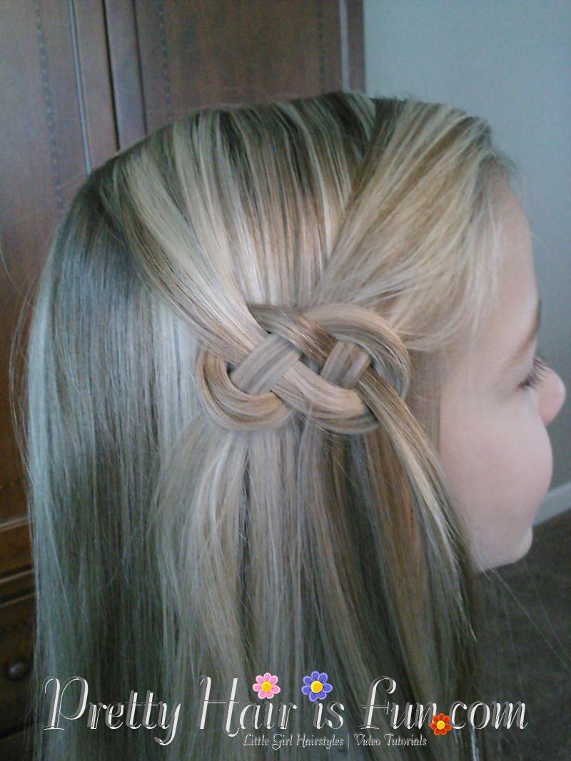 Pretty Hair Is Fun Celtic Knot Or Infinity Braid