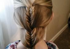 Pretty Hair is Fun: Fishtail Progressive Braid