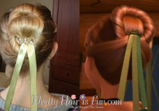 Pretty Hair is Fun: Anna's Coronation Hairstyle from Disney's FROZEN
