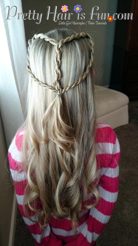 Pretty Hair Is Fun Girls Hairstyle Tutorials Pretty Hair Is - Hairstyle for valentine's dance