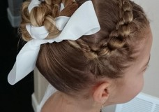 Pretty Hair is Fun: Pin of the Day no. 2/ Knotted Braid with Ballet Bun