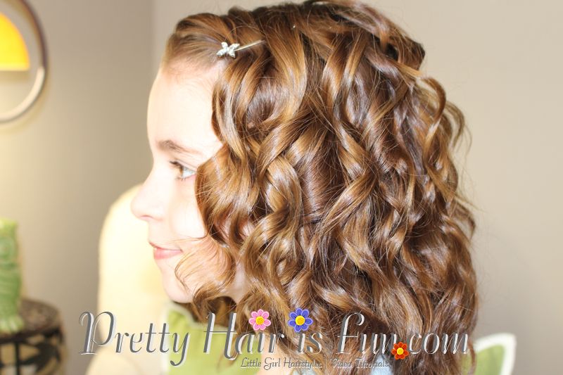 Hair Wand Styles: Girls Hairstyles: How To Use A Curling Wand