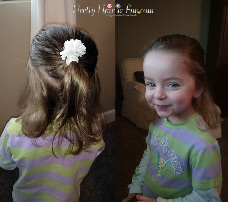 Girls Hairstyles: Dad Can Do Hair Too!