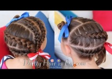 Pretty Hair is Fun: 4th of July Hairstyle