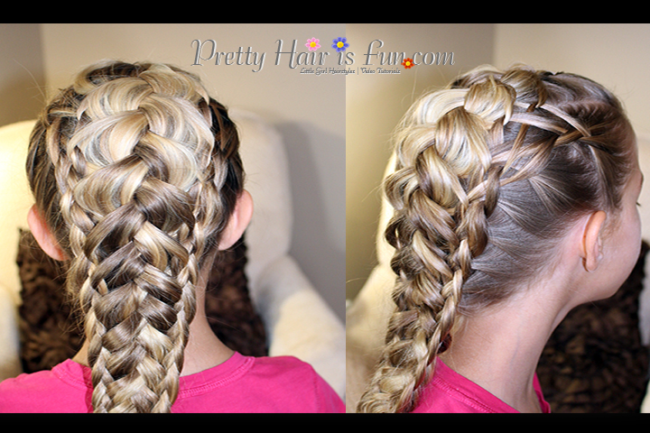 Pretty Hair Is Fun Weaved Triple Dutch Braid Pretty