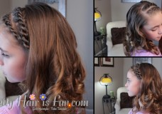 Pretty Hair is Fun: Double Rope Twist Braids Hairstyle