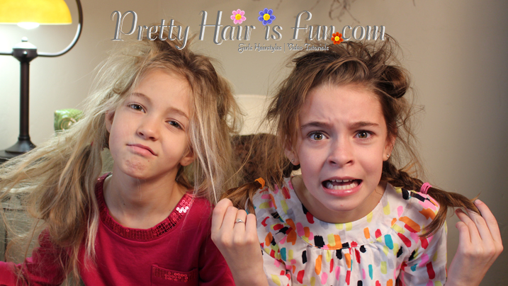 Swell Pretty Hair Is Fun Girls Hairstyle Tutorials Crazy Hairstyles Hairstyles For Men Maxibearus