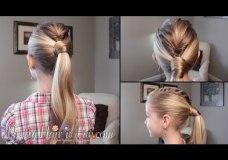 Pretty Hair is Fun: Mohawk Fishtail Ponytail