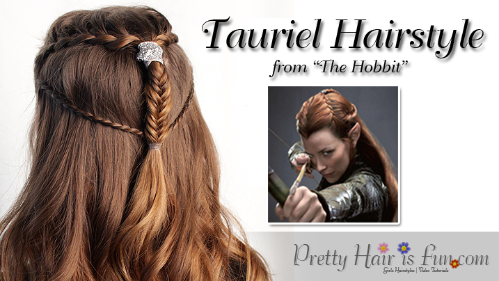Pretty Hair Is Fun Tauriel Inspired Hairstyle From The