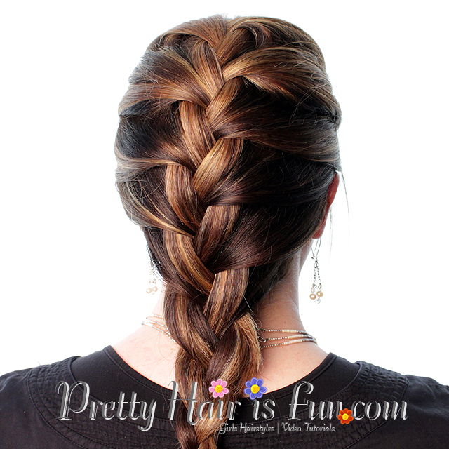 Pretty Hair is Fun: How to French Braid Your Own Hair ...