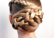 Pretty Hair is Fun: Arrowhead Bun Hairstyle {Valentine's Day Hairstyle}