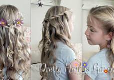 Pretty Hair is Fun: Princess Hairstyles