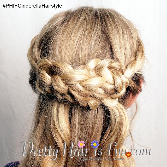 Pretty Hair is Fun: Cinderella Hairstyle Tutorial from the Disney Movie - Pretty Hair is Fun ...