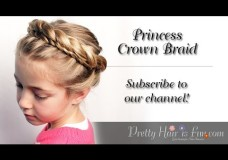 Pretty Hair is Fun: How to: Princess Crown Braid Tutorial