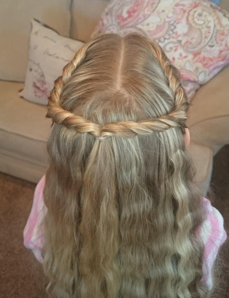 pretty hair is fun rope twist halo braid � pretty hair is