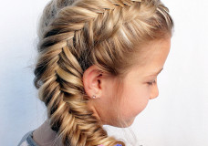 Pretty Hair is Fun: Side Dutch Fishtail Braid