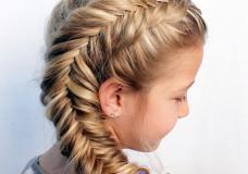 Pretty Hair is Fun: Side Dutch Fishtail Braid