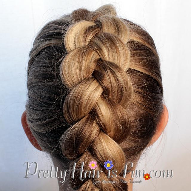 Pretty Hair Is Fun Easy Pulled Dutch Braid Pretty Hair