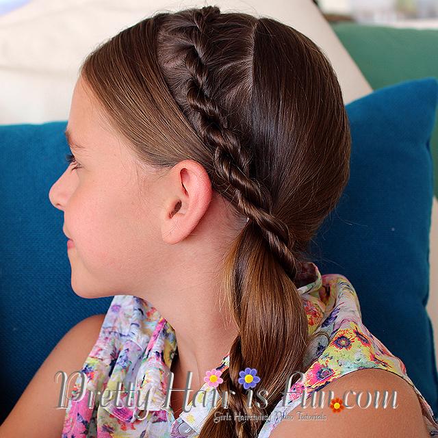 Pleasant Pretty Hair Is Fun Girls Hairstyle Tutorials Pretty Hair Is Short Hairstyles For Black Women Fulllsitofus
