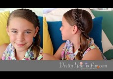 Pretty Hair is Fun: Side Mohawk Braid