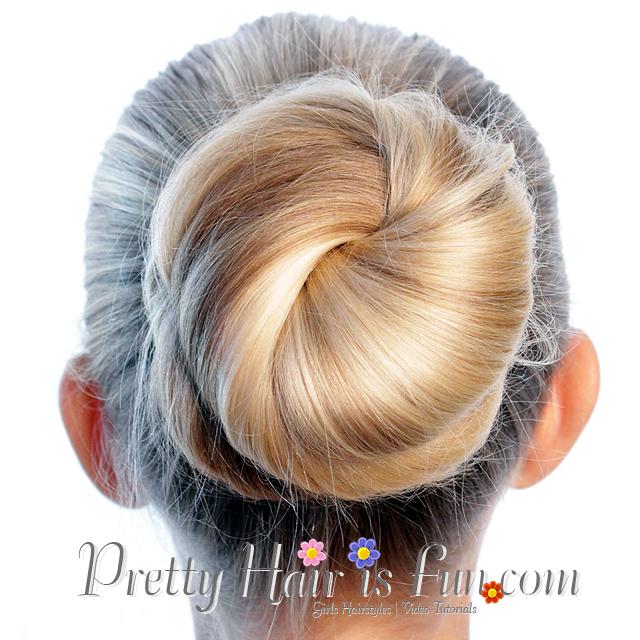 Pretty Hair is Fun: 3 Easy Bun Hairstyles Under 5 Minutes « Pretty ...