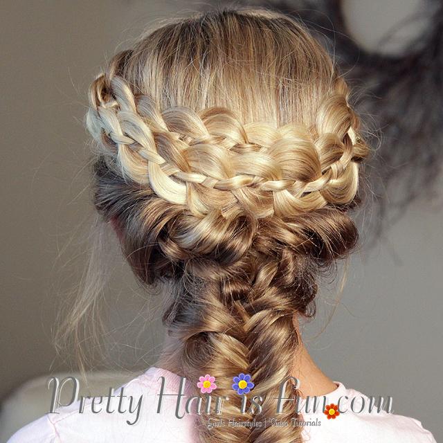 Pretty Hair Is Fun How To Do A Mermaid Fishtail Braid