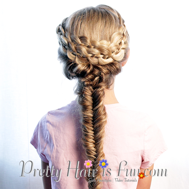 Pretty Hair is Fun: How to do a Mermaid Fishtail Braid – Pretty Hair ...