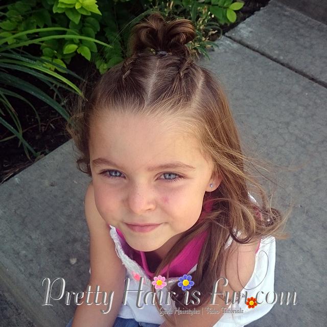 Awe Inspiring Pretty Hair Is Fun Girls Hairstyle Tutorials Pretty Hair Is Hairstyle Inspiration Daily Dogsangcom
