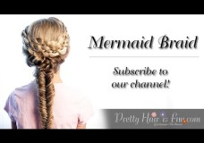 Pretty Hair is Fun: How to do a Mermaid Fishtail Braid