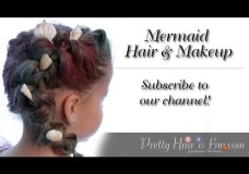 Pretty Hair is Fun: How To: Mermaid Halloween Costume