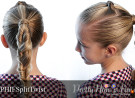 Pretty Hair is Fun: Split Twist Braid Tutorial